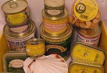 Colis Gastronomique Assortiment de 12 produits conserverie Courtin