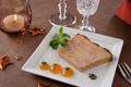 Terrine Vichy Celestins De Foie Gras Mi Cuit Aux Abricots Et Cacao
