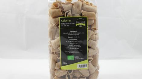 Colosses Pâtes au blé dur