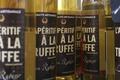 L'apéritif à la truffe noire de la drôme