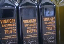 vinaigre balsamique aromatisé à la truffe