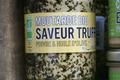 Moutarde Bio saveur truffe, poivre et huile d'olive