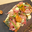 Fine Tartelette d'automne savoyarde, girolles et chanterelles, crème au Morbier
