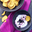 Chips de Patate Douce avec Dip au Yaourt et aux Myrtilles