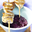 Saté de Poulet à la  Sauce Cacahouètes Myrtilles