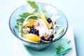 Salade de fenouil aux myrtilles sauvages