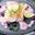 Filet de cabillaud avec mousse de myrtilles au gingembre