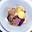 Médaillons de Chevreuil avec une Sauce de Calvados et des Myrtilles