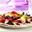 Tortilla avec des Myrtilles