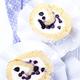 Biscuit roulé fourré aux myrtilles sauvages du Canada