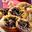 Mini-pizzas au pudding  Avec des myrtilles sauvages du Canada