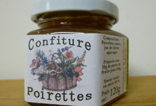 Confiture - Poirettes