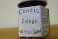 Confit - Coings au vin chaud