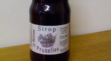 Sirop - Prunelles