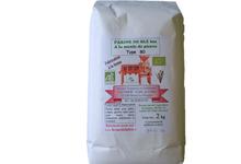 Farine de blé bio type 80