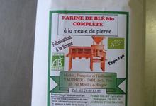 Farine de blé complète bio type 150