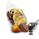 Madeleines au chocolat au lait parfum caramel