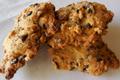 Cookies chocolat-noisettes.