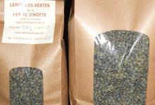 Lentilles vertes de la ferme d'Hotte variété Anicia