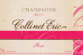 CHAMPAGNE ROSE Eric Collinet