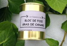 Bloc de foie gras de canard,  Ferme de Larcher