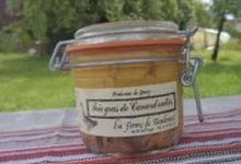 Foie gras de canard entier,  Ferme de Tandounet