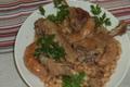 Cassoulet aux manchons de canard,  Ferme de Tandounet
