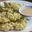 Crevettes de Norvège au riz vert soufflé, sésame torréfie