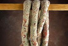Saucisse sèche au Roquefort 100% canard