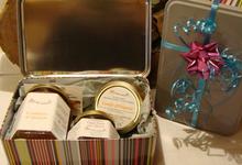 """Coffret cadeau """"boîte à sucre"""""""