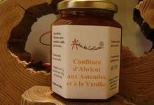 Confiture d'abricot - amandes - vanille