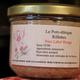 Verrine de 200 gr de rillettes de porc Label Rouge