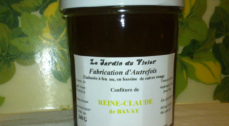Confiture de Reine-Claude de Bavay