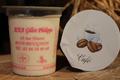 yaourts fermiers aromatisés au café