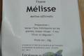 Tisane « MELISSE »