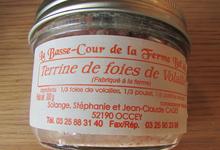 Terrine De Foies De Volailles En Verrine