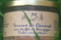 Terrine de canard aux truffes de Bourgogne