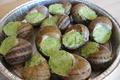 12 escargots en coquilles avec farce Bourguignonne surgelés
