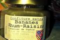 Confiture Banane Rhum Raisins