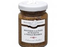 moutarde A la fleur de noisette et à la vanille Bourbon