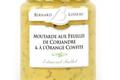 moutarde Aux feuilles de coriandre & à l'orange confite