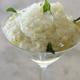 Mojito royal à l'ananas Victoria, suprême de citron vert confit au vieux rhum