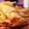 Crêpes fourrées à la crème de citron et crème anglaise au thé Earl Grey