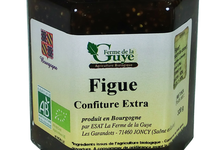 Confiture artisanale bio de Figue