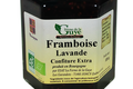 Confiture artisanale bio de Framboise-Lavande