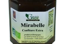 Confiture artisanale bio de Mirabelle