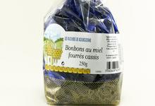 Bonbons au miel fourrés au Cassis