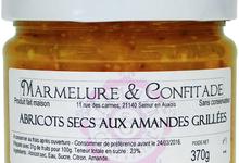 Confiture d'abricots secs aux amandes grillées