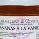 Confiture d'ananas à la vanille