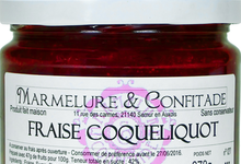 Confiture de fraise et coquelicot